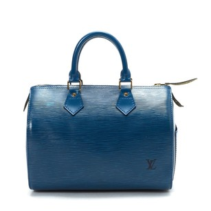 Louis Vuitton Blue Travel Bag