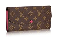 Louis Vuitton Brand New Louis Vuitton Monogram Emilie Wallet in HOT PINK (Sold Out!)