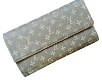 Louis Vuitton Brown Monogram Mini Lin Porte-Tresor International wallet