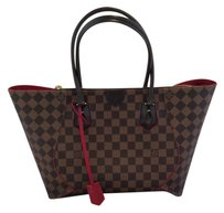 Louis Vuitton Caissa Tote in Brown Red