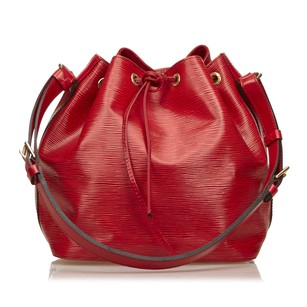 Louis Vuitton Epi Leather Leather Red 5llvsh058 Shoulder Bag