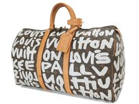 Louis Vuitton Fl 0051 Leather Travel Brown Travel Bag