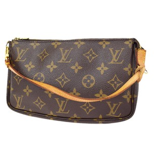 Louis Vuitton Hand Monogram Leather Baguette