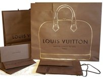 Louis Vuitton Large Handheld or Shoulder Shopping/ Gift Bag from Special Beverly Hills Newly Reopened Store 02/2015