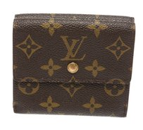 Louis Vuitton Louis Vuitton Brown Monogram Elise Wallet