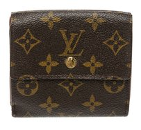 Louis Vuitton Louis Vuitton Brown Monogram Tri-Fold Snap Wallet