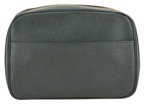 Louis Vuitton Louis Vuitton Green Taiga Episea Cosmetic Pouch (Authentic Pre Owned)