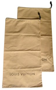 Louis Vuitton Louis Vuitton Knee High Boots Drawstring Dustbags. UNUSED. Brand new
