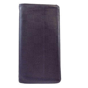 Louis Vuitton LOUIS VUITTON Long Bifold Wallet Black