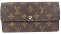 Louis Vuitton LOUIS VUITTON Long Bifold Wallet Monogram