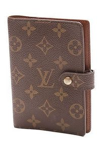 Louis Vuitton Louis Vuitton Monogram Canvas Ring Agenda Cover