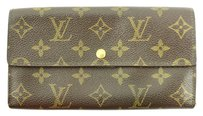 Louis Vuitton Louis Vuitton Monogram Sarah Wallet