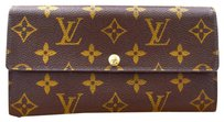 Louis Vuitton LOUIS VUITTON Portefeuille Sarah Long Bifold Wallet