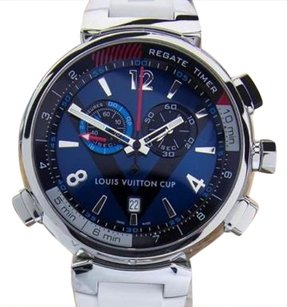 Louis Vuitton Louis Vuitton Cup Tambour Regatta Stainless Steel Luxury Sports Watch Siw085