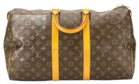 Louis Vuitton L.V. Monogram (Entrupy Authenticated) Travel Bag