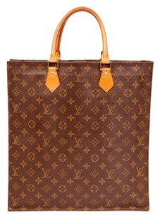Louis Vuitton Monogram Tote in Brown
