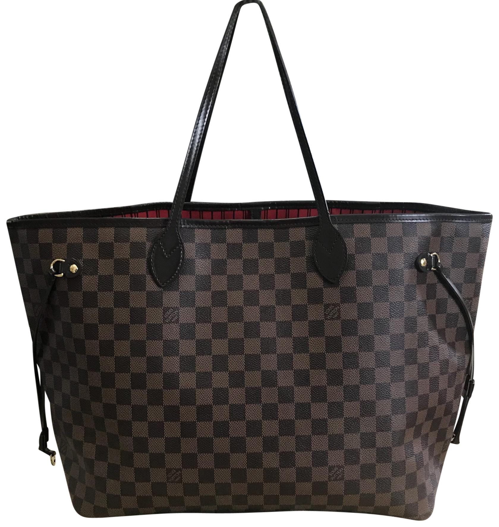 Pre-owned - Tote W leather tote Louis Vuitton jVhLsm9Xd
