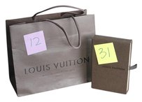 Louis Vuitton New Gift Box & Shopping Bag LV Brown Gift Packaging Empty Store Bag