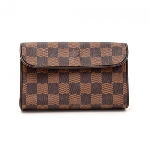 Louis Vuitton Pochette Ebene Clutch
