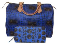 Louis Vuitton Rare Discontinued Satchel in Royal Blue