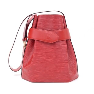 Louis Vuitton Red 3. Leather Shoulder Bag