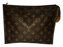 Louis Vuitton *REPHOTO* Louis Vuitton Cosmetic Bag Make Up Toiletries Pouch Clutch LVAV212