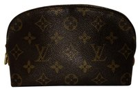 Louis Vuitton *REPHOTO* Louis Vuitton Demi Ronde Cosmetic Case Pouch Round Trousse LVAV218
