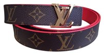 Louis Vuitton Reversable Monogram Red