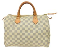 Louis Vuitton Satchel in Whites/Cream