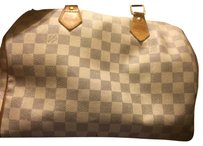 Louis Vuitton Speedy Speedy30 Damier Azur Satchel