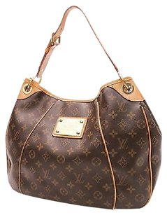 Louis Vuitton Monogram Canvas Satchel in Brown