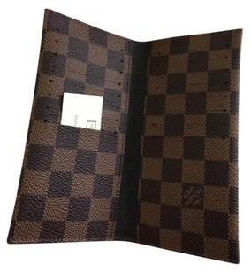 Louis Vuitton SOLD OUT ! Checkbook/card holder wallet damier ebene