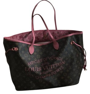 Louis Vuitton Tote in Pink Monogram