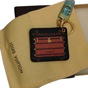 Louis Vuitton Trunks Illustration Monogram Limited Edition Bag Charm Key Chain Fob
