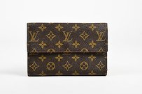 Louis Vuitton Vintage Louis Vuitton Brown Canvas Monogram Passport Organizer Travel Wallet