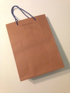 Louis Vuitton Vintage Louis Vuitton paper shopping bag tote collectible