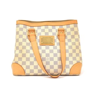 Louis Vuitton White Damier Shoulder Bag