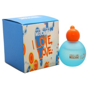 Love Moschino I Love Love by Moschino 0.16 oz EDT Perfume for Women New In Box