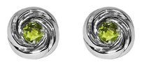 LoveBrightJewelry Awesome Green Peridot Crossover Earrings 925 Silver