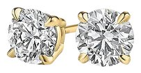 LoveBrightJewelry Conflict Free Diamond Stud Earrings in 14K Yellow Gold
