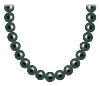 LoveBrightJewelry Freshwater Cultured Pearl Necklace 14K White Gold 5 MM