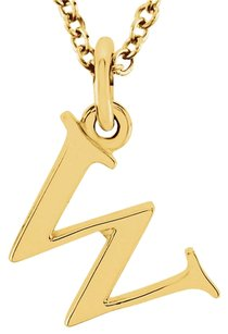 LoveBrightJewelry Unique Jewelry W Initial Pendant in 18K Yellow Gold Vermeil Amazing Price Offer Latest Fashion