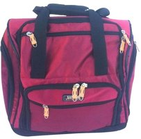 Lucas Carry On Under The Seat Red Travel Bag