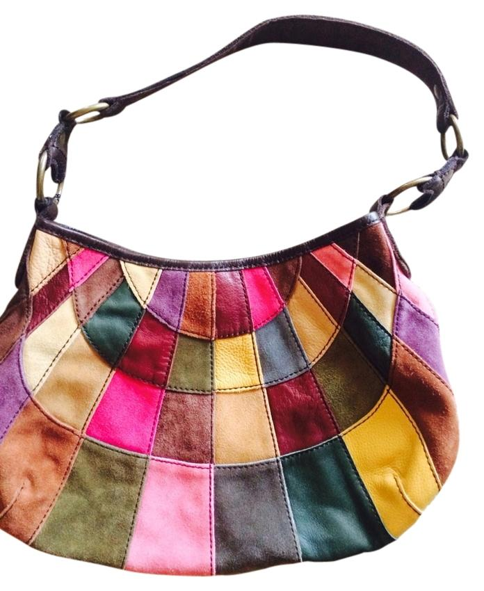 Lucky Brand Patchwork New Hobo Bag delicate - www ...