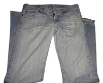 Lucky Brand Size 27 Size 4 Boot Cut Jeans-Light Wash