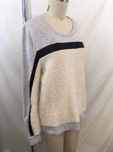 Lulu Townsend Townsen Cream Mohair Black Sweater
