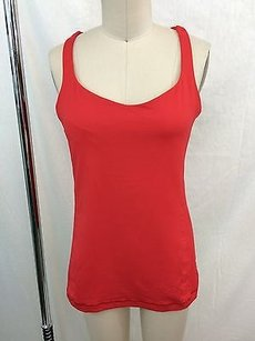 Lululemon Lululemon Athletica Red Strappy Criss Cross Back Tank Top