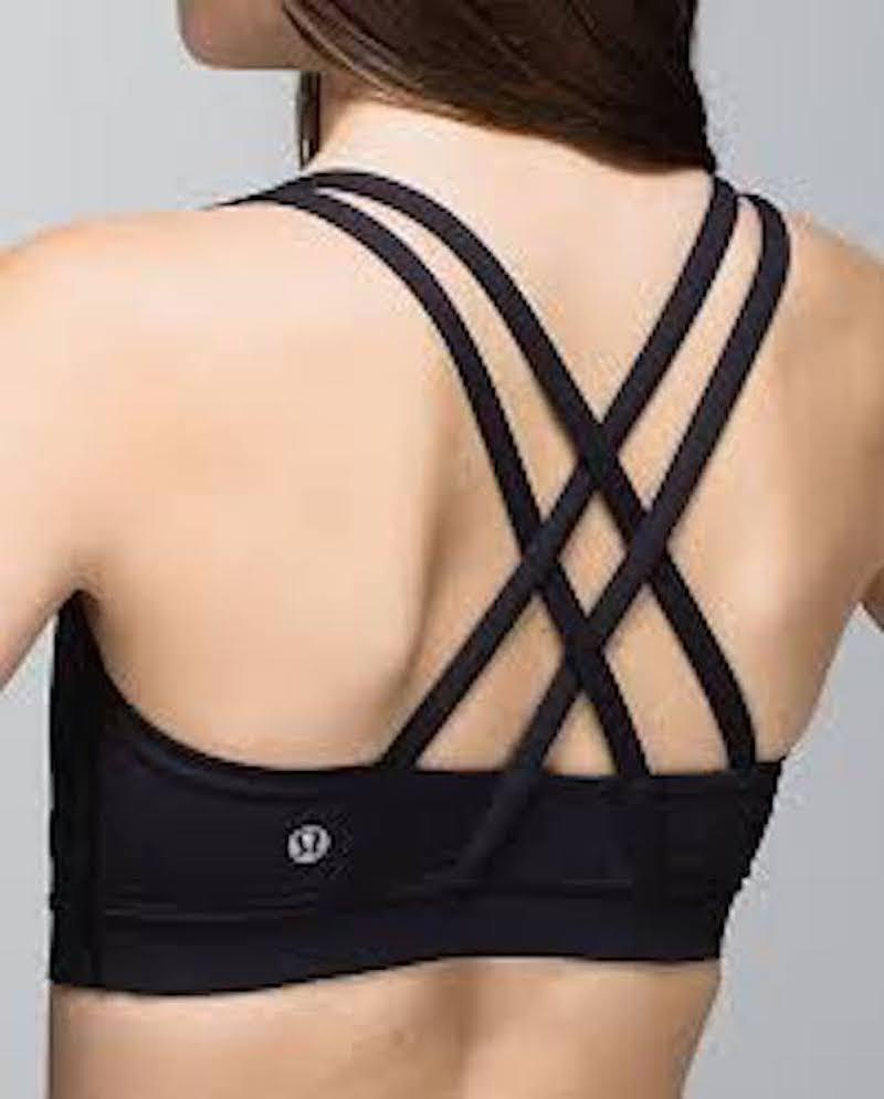 Lululemon Black Energy ~ Comes with Extra Cups Activewear ...