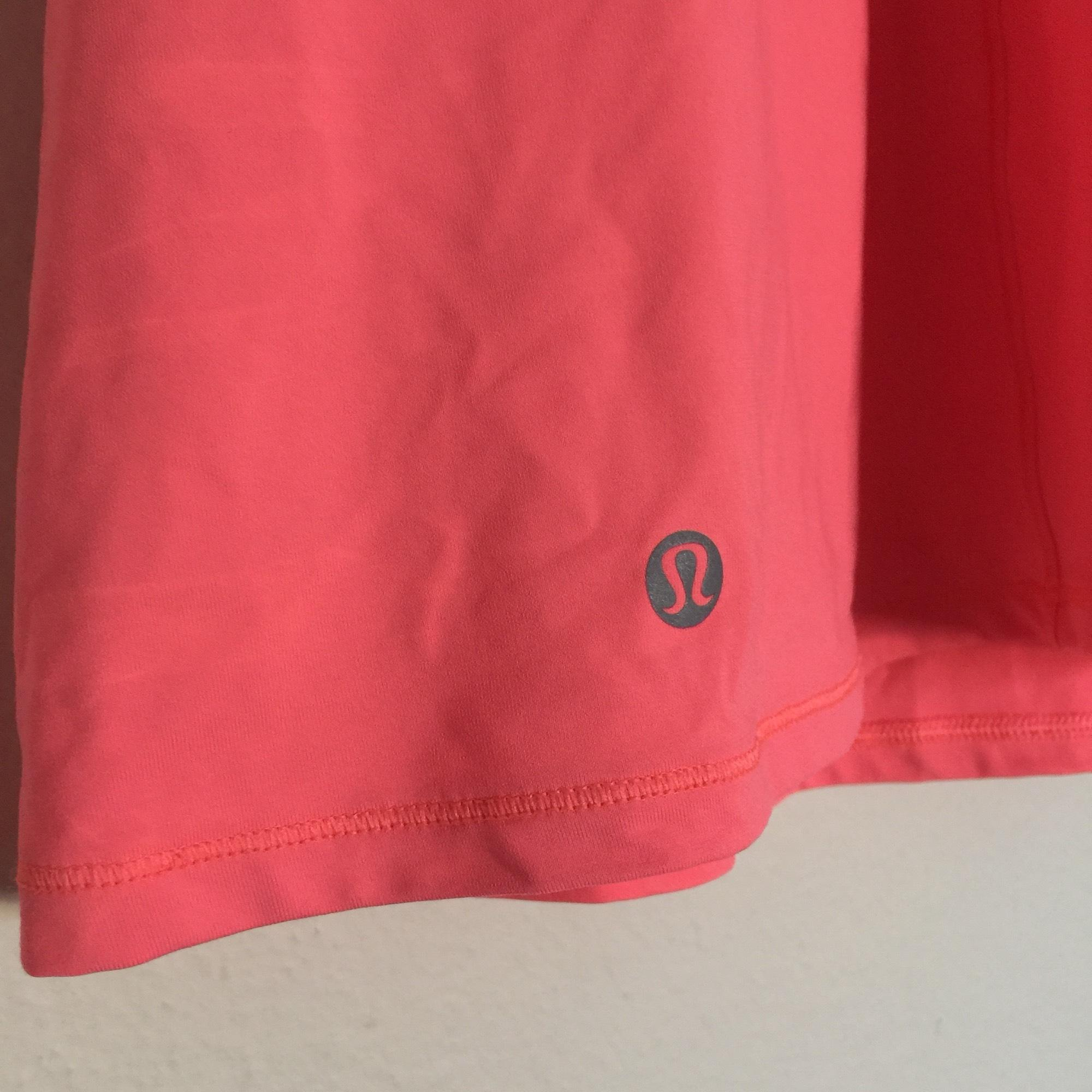 Lululemon Pink Coral Energy Tank Blouse Size 8 (M)
