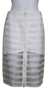 Lulumari Pencil Skirt White
